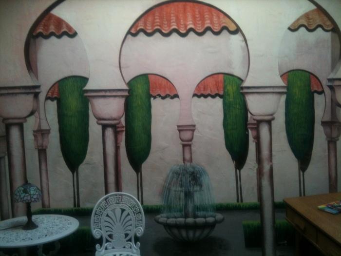 Garden Mimes Mural