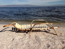 Chaise Lounge on the Shore