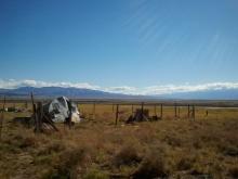 Airstream and Sierra Nevadas