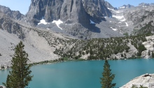 Second Lake and Temple Crag